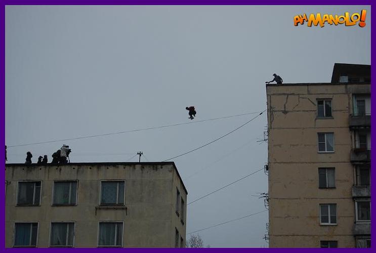 salto de um prédio