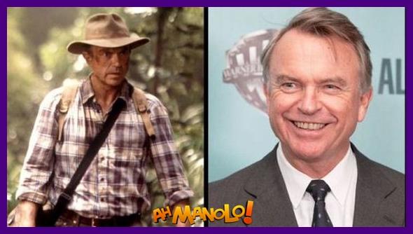 Atores e atrizes Jurassic Park Antes e Depois!