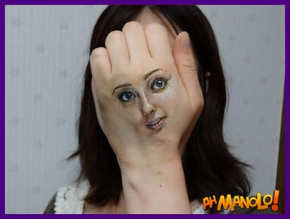 criativas pinturas de rosto!