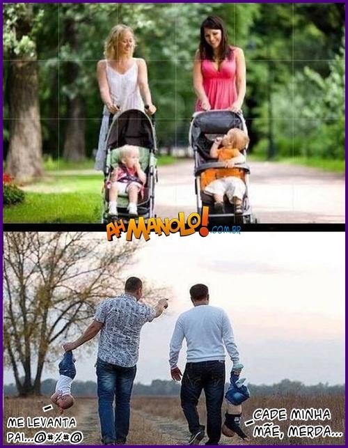 Diferença de Pais e Mães