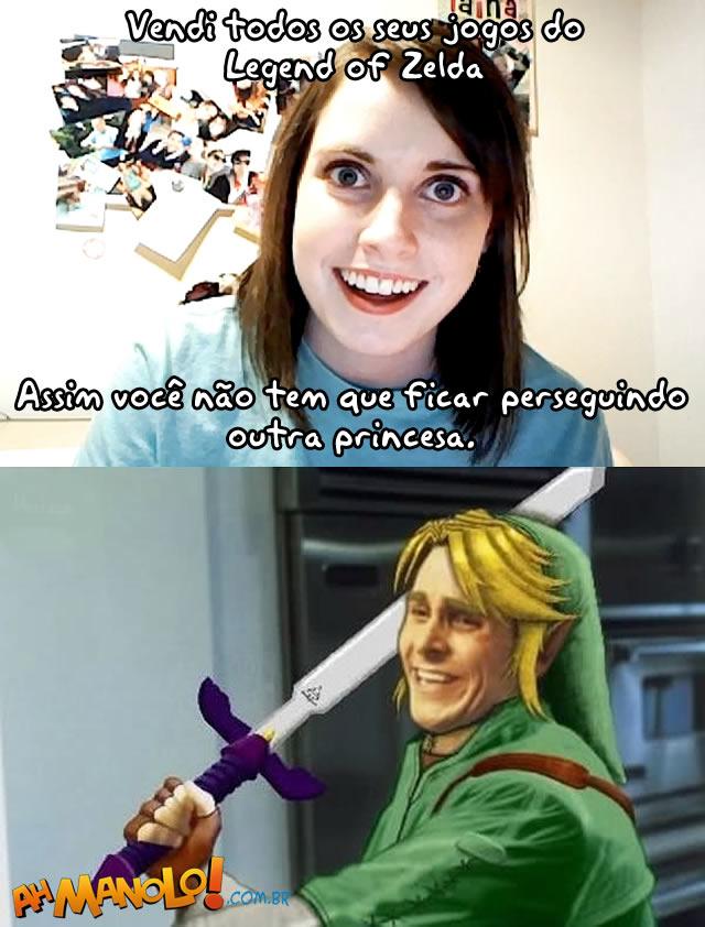 Vendi seus jogos do Zelda