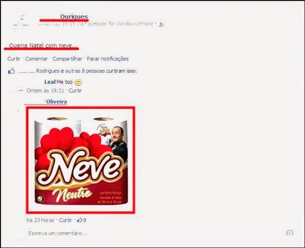 As Melhores Pérolas do Facebook...