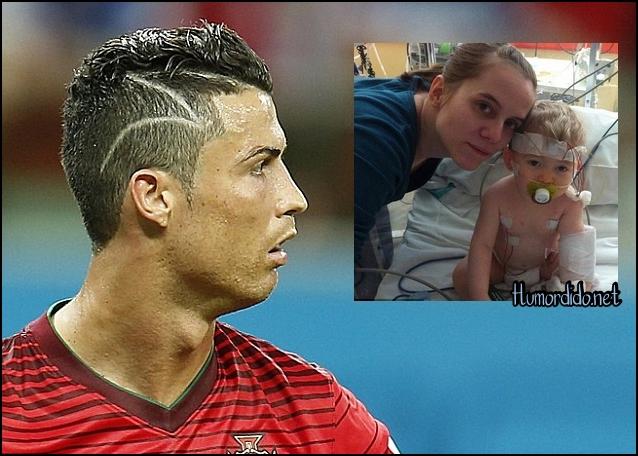 Cristiano Ronaldo: O novo corte de cabelo tão criticado foi em homenagem a um bebê