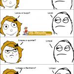 meme e tirinhas mãe perguntando ao filho